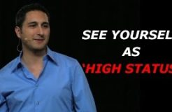 """See Yourself As """"High Status"""""""