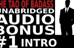 The Tao of Badass Unabridged Audio Bonus - 1. Intro